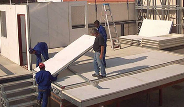 pre-fabricated structure - vitapur insulation products